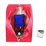 2L Portable Home Steam Sauna Spa Slimming Full Body Detox Therapy Loss Weight