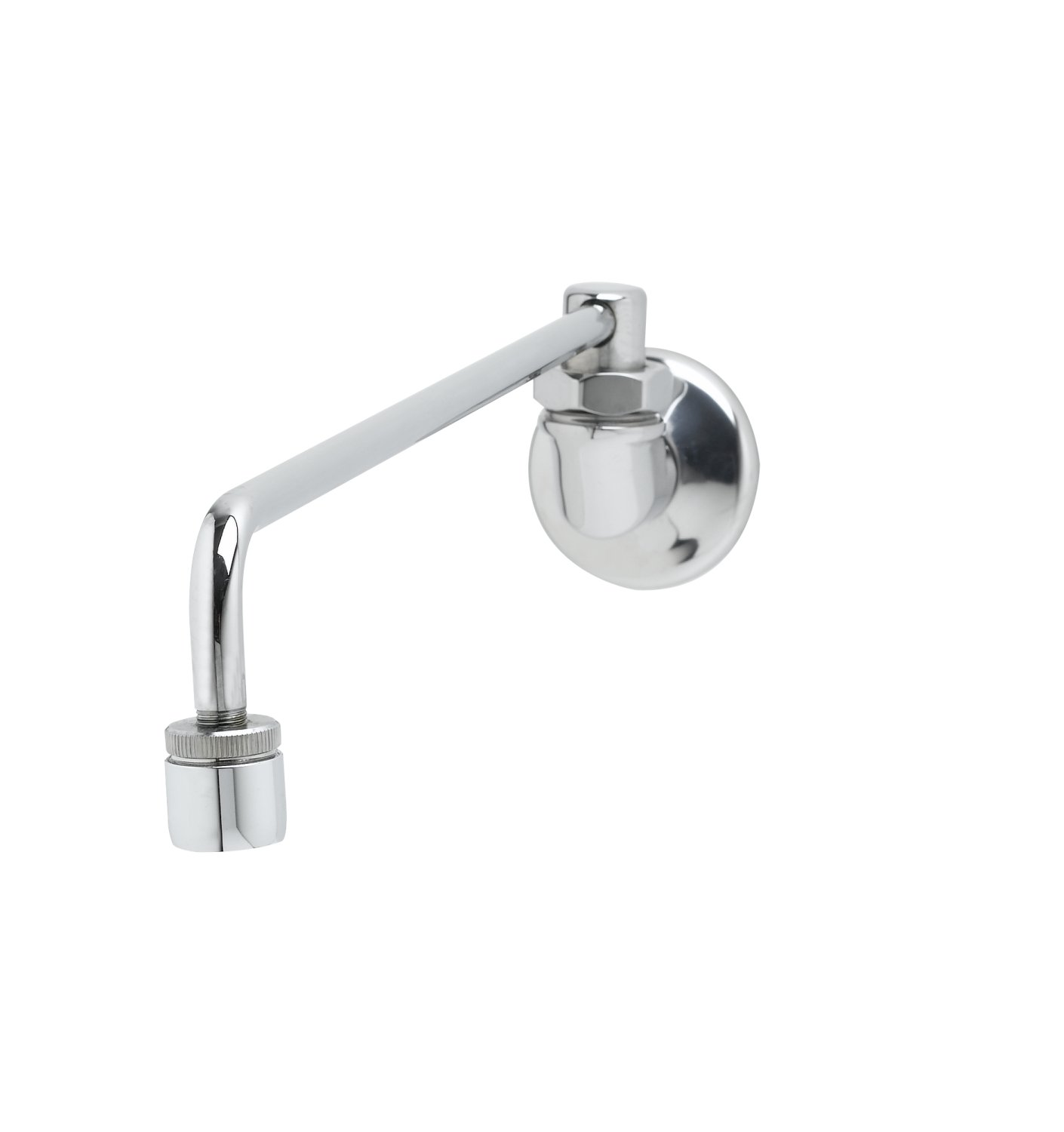 T&S Brass B-0577 Range Faucet, Wall Mount, Aerator, 13-1/8-Inch Nozzle Length, 1/2-Inch Npt Male Inlet