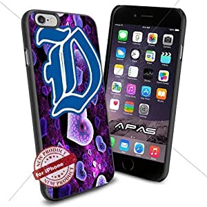 Duke Blue Devils NCAA ,Cool Iphone 6 Smartphone Case Cover Collector iphone TPU Rubber Case Black color [ Original by WorldPhoneCase Oly ]