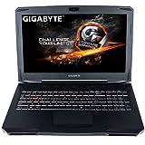 CUK Gigabyte SabrePro Gamer VR Ready Notebook (Intel i7-7700HQ, 16GB DDR4 RAM, 256GB NVMe + 1TB HDD, NVIDIA GTX 1060 6GB) 15.6-inch Full HD Windows 10 Home Gaming Laptop Computer