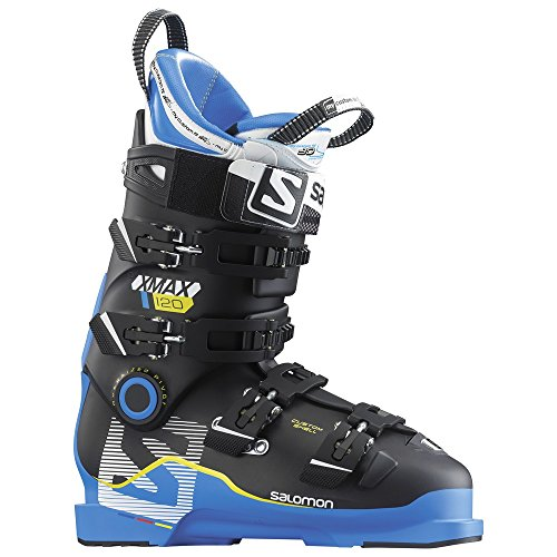 [Salomon X Max 120 Ski Boot Men's Blue/Black 27.5] (Mens Race Ski Boots)
