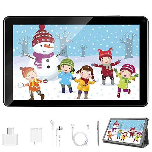 Kids Tablet 9 Inch Wifi Tablet PC Android 9.0, Quad-Core, 3GB RAM 32GB ROM/128GB, Google Play Pre-Installed, 6000 mAh…