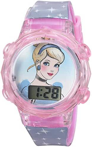 Disney Girl's Quartz Plastic Casual WatchMulti Color (Model: PRSKD835)