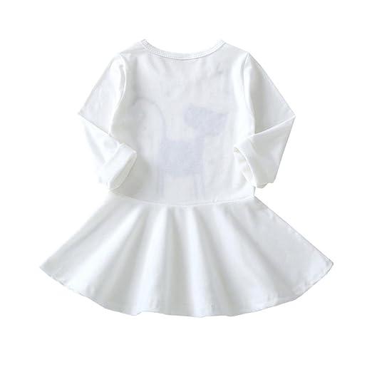 Kids Girls Mouse Applique Short Sleeve Summer Denim Dress Size 1//2//3//4