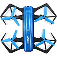 Dreamyth JJRC H43WH Blue Crea 720P WIFI Camera Foldable With Altitude Hold RC Quadcopter,Inside the fuselage With A Battery