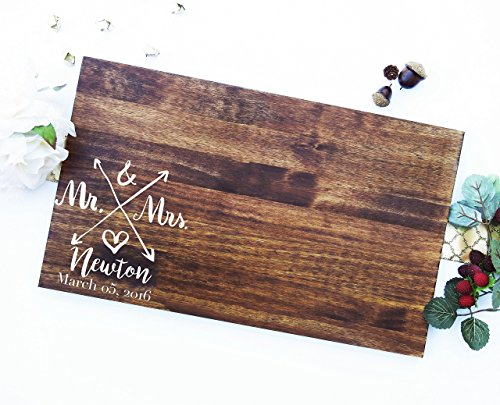 Wedding Guest Signing Board, a unique Wedding Guest Book Alternative & Wedding Keepsake. Sign #14