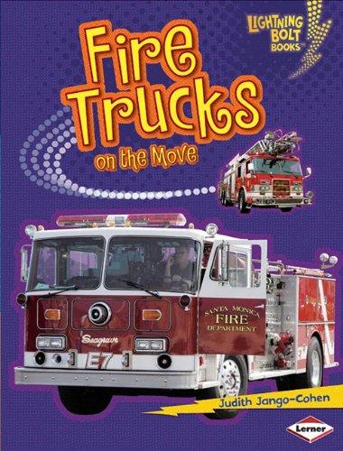 Fire Trucks on the Move (Lightning Bolt Books) (Truck Fire Tower)