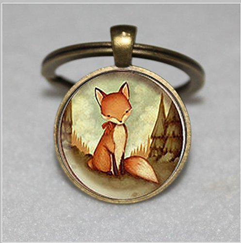 Fox Keychain (Red Fox Keychain ,Fox Keychain,Fox Keychain,Unique Key Ring Customized Gift,Everyday Gift Key Chain)