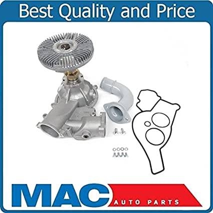 Amazon.com: For 99-03 F250 Super D 7.3L Turbo Diesel 100% New Tested Water Pump & Fan Clutch: Automotive