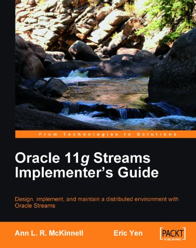 Oracle 11g Streams Implementer's Guide Pdf