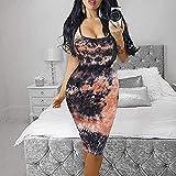 Casual Summer Dress for Women,Round Neck Sleeveless