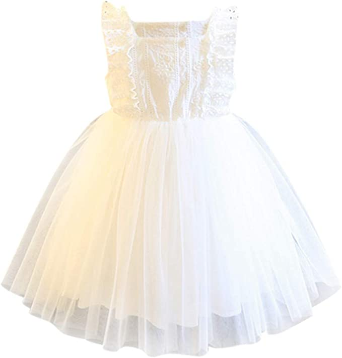 AIni Vestido Elegante De Gala, Ropa Bebe NiñA Vestido De Fiesta De ...