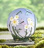 Glowing LED Daisy Garden Globe