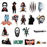 Horror Character Stickers Pack for Laptop Water