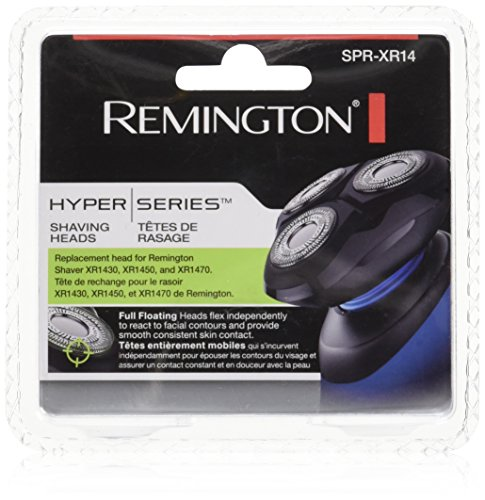 Remington SPR-XR14 Head and Cutter Assembly for Hyperflex Advanced Rotary Shavers Hyper Products Replacement