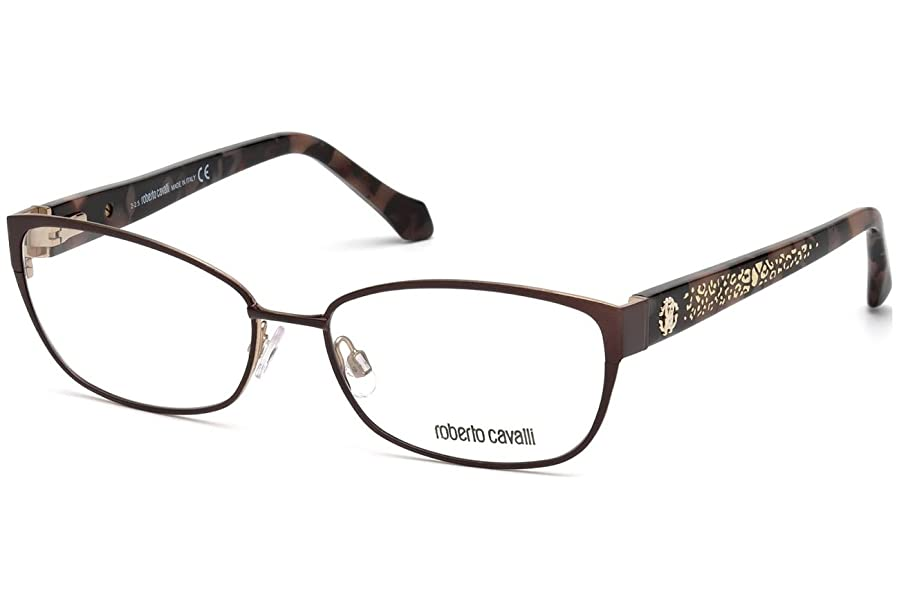 Roberto Cavalli RC5024 Eyeglass Frames - Dark Brown Frame, 56 mm ...