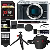 Canon EOS M6 Mirrorless Digital Camera Body (Silver), Ritz Gear Extreme SD 32GB U3 Card, Tabletop Tripod, Photo Pack, Screen Protector, Card Reader, SD SDHC, 2.0, Camera Flash, and Accessory Bundle Review