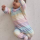 HonestBaby Organic Cotton Footed Sleep & Play