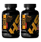 Product review for Natural weight loss pills for men - DHEA - Dhea sex drive - 2 Bottles 120 Capsules