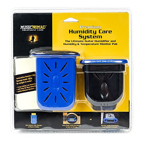 Price comparison product image Music Nomad MN306 Premium Humidity Care System,  Humitar & Humireader
