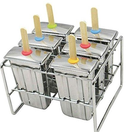 Buy Stainless Steel Popsicle Molds And Rack Stainless Steel Popsicle