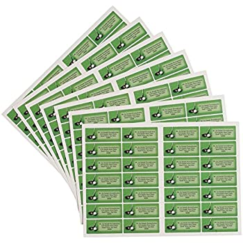 Amazon.com : Golf Address Labels : Office Products