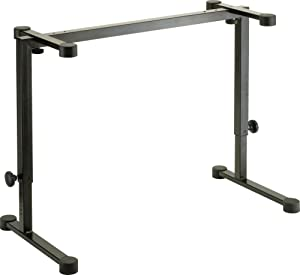 K&M Stands K&M - Table-style keyboard stand - Omega - black 18810.015.55