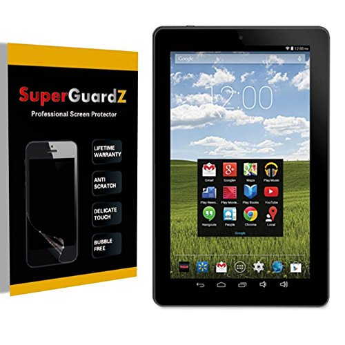 10 (RCT6203W46) - SuperGuardZ Screen Protector [Lifetime Replacement], Ultra Clear, Anti-Scratch, Anti-Bubble ()