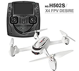 Hubsan X4 H502S RC Quadcopter Drone 5.8G FPV Mode Switch With 720P HD Camera GPS Altitude Mode Drone RTF from Hunter Import