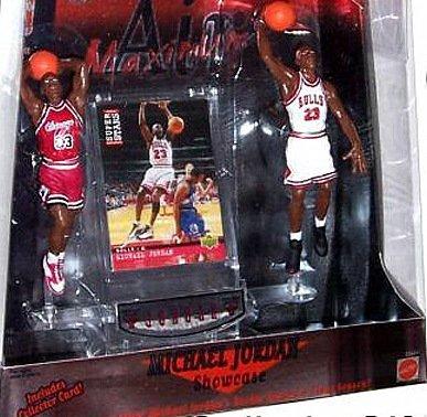 Mattel Air Maximum Michael Jordan Showcase 2-Figure Box (Michael Jordan Bulls Game)
