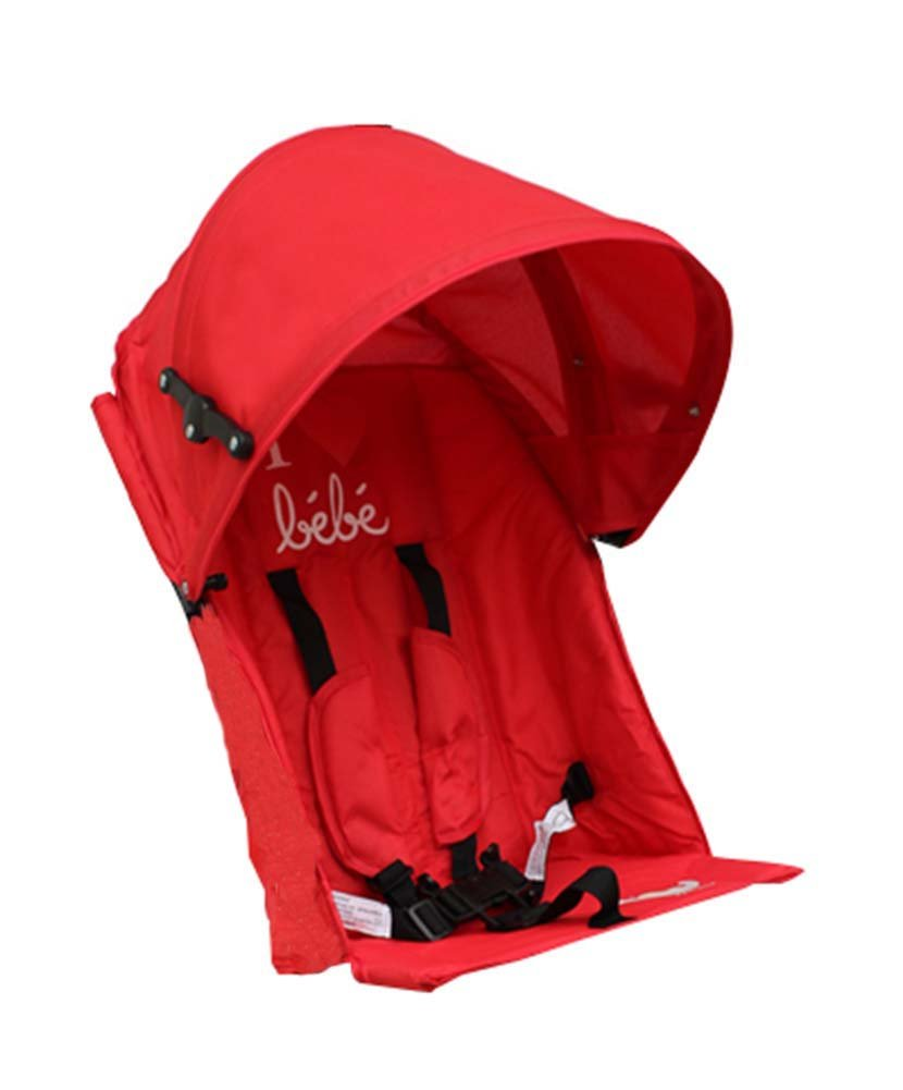 [RED] Baby Stroller Sunshade Maker Infant Stroller Canopy Cover by Panda Superstore (Image #1)