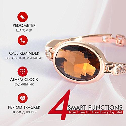 Unique Viennois Luxurious Bluetooth Smart Jewelry Bracelet Health Tracker  OC45