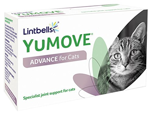 Yumove Advance for Cats Triple Action Joint Supplement 60 Capsules Lintbells YMAC60