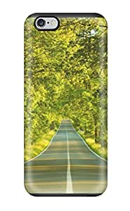 Oscar M. Gilbert's Shop 6290017K91375433 Case Cover, Fashionable Iphone 6 Plus Case - Open Road In Spring