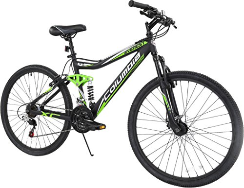 Columbia Everest Men's Dual Suspension 21-Speed Mountain Bike