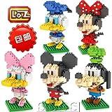 amazon com disney mickey mouse clubhouse figure play set 6 pc