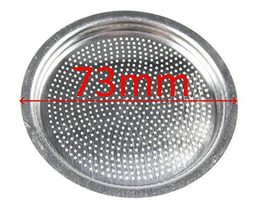 DeLonghi - Filtro de disco de ducha 73 mm cafetera Alicia 9 ...