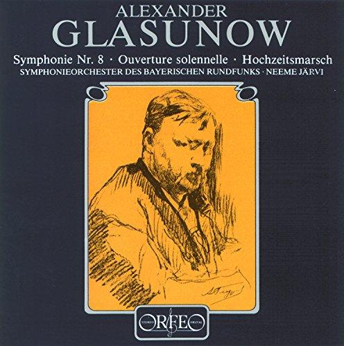 Glazunov: Symphony No. 8, Op. 83, Ouverture solennelle, Op. 73 & Wedding Procession, Op. 21]()