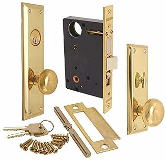 Marcas hardware Inc. 91 A-LH marcas Cerradura, Mano Izquierda: Amazon.es: Amazon.es
