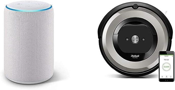 Echo Plus gris claro + iRobot Roomba e5154 - Robot Aspirador ...