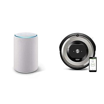 Echo Plus gris claro + iRobot Roomba e5154 - Robot Aspirador Óptimo ...