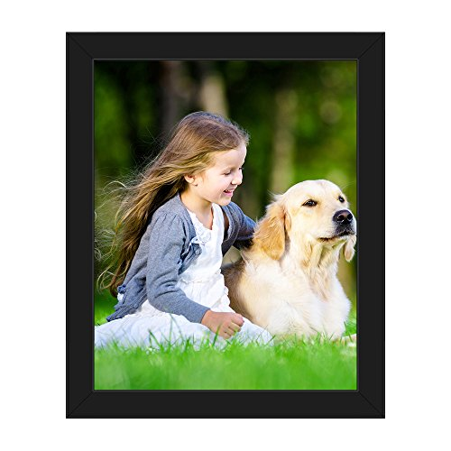 Photo 16x20 Framed (Picture Wall Art Your Photo on Custom Framed Canvas Print 16 x 20)