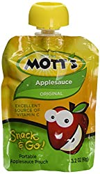Mott's Snack & Go Applesauce, Original, 12 Count