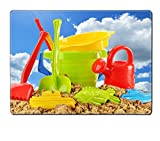 Liili Placemat Natural Rubber Material Plastic children toys for playing in sandpit or on a beach over the blue sky Photo 20323663