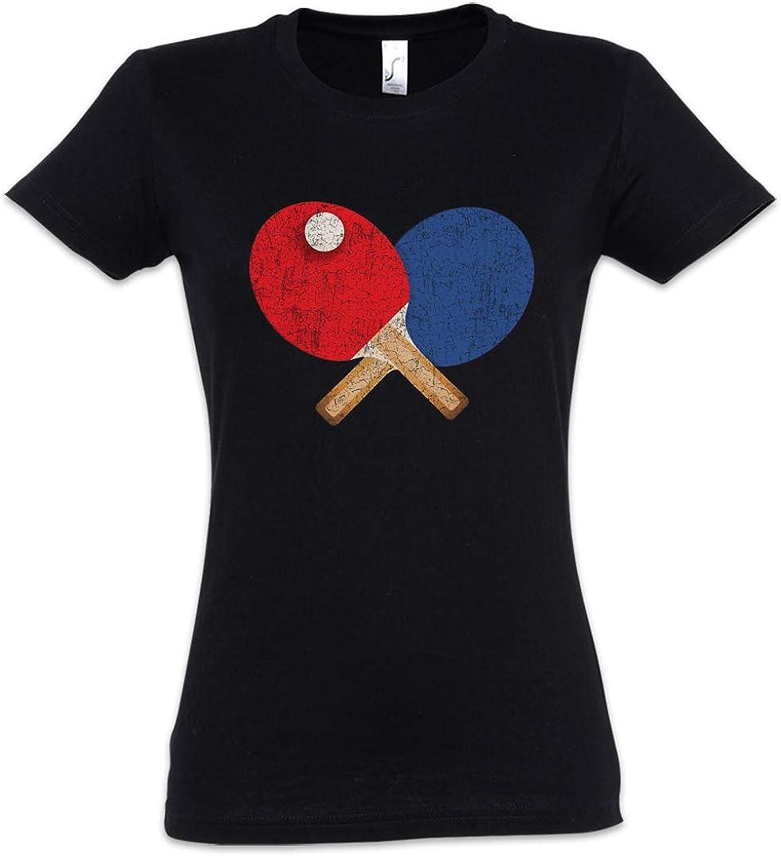 Urban Backwoods Table Tennis Tools I Camiseta de Mujer Women T-Shirt