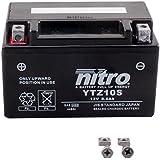 NITRO YTZ10S -N- Batterie Moto AGM Fermé