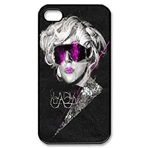 diy Custom Cover Case for iPhone 4,4S - Lady Gaga case 4
