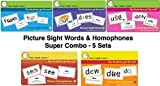 I See, I Spell, I Learn - Super Combo Picture Sight Words & Picture Homophones Flashcards