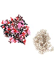 D Dolity 100 Pieces Mix Colored Safty Noses - for Animal Dog Cat Soft Toys Teddy Bear Making Crafts