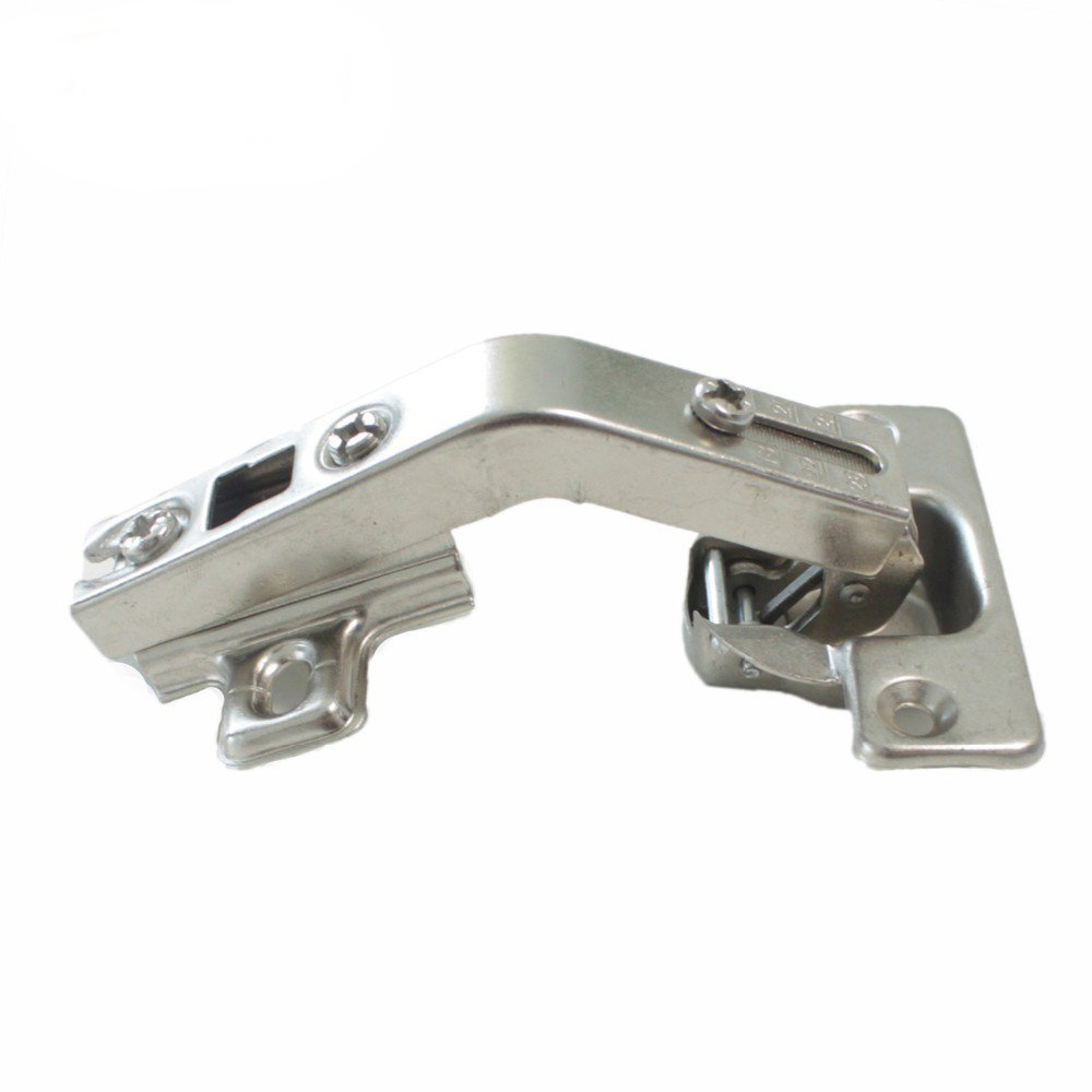 1 pair 135 Degree Corner Kitchen Cabinet/Cupboard Folded/Folden Door Hinges For Combination With Screws by Home Building Store